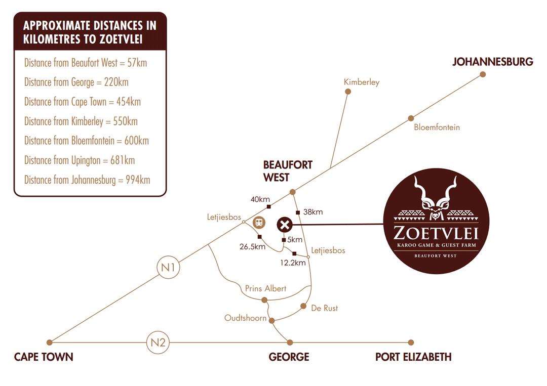 Zoetvlei Map